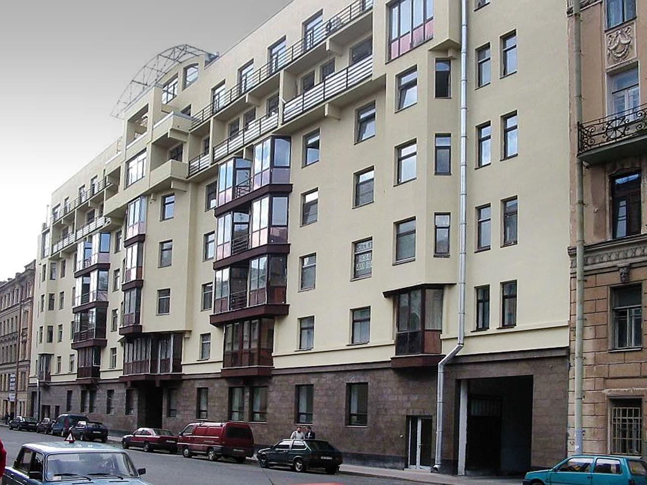 Элитный жилой дом. Санкт-Петербург, 8-я Советская ул., 37. 2001–2002