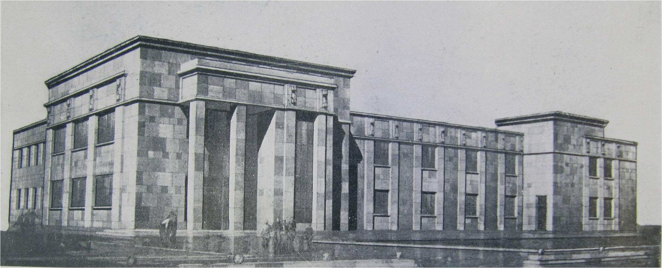 3.Благодатная ул., 45. 1934-1935 гг. Школа. Проект.