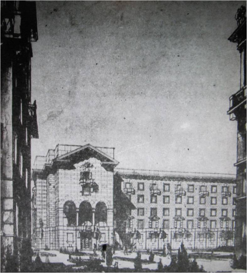 8.Пр. Стачек, 88, к.2. 1937 г. Проект.